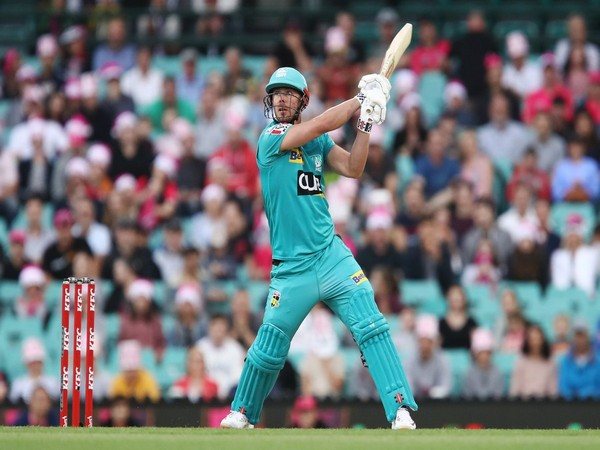 Brisbane Heat batsman Chris Lynn (Photo/ Brisbane Heat Twitter)