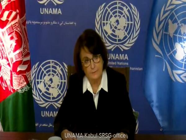 UN Special Representative for Afghanistan Deborah Lyons (File Photo)