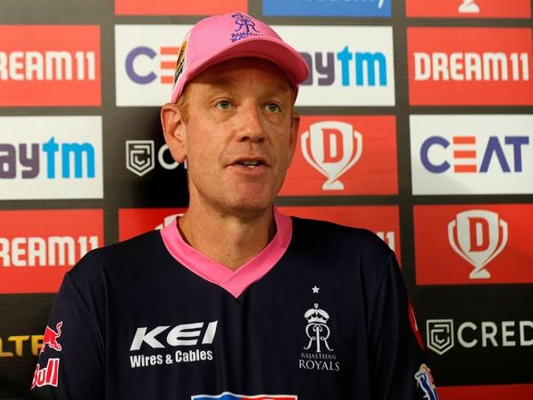 Rajasthan Royals coach Andrew McDonald.  (image: BCCI/IPL)