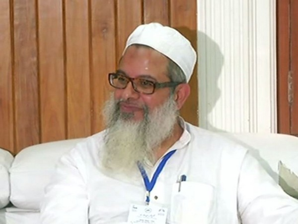 Mahmood Madani, general secretary of Jamiat Ulema-e-Hind at press conference in New Delhi on Thursday