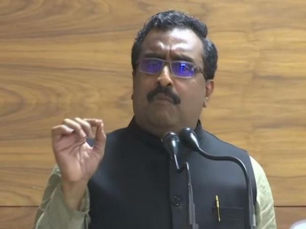 BJP national general secretary Ram Madhav