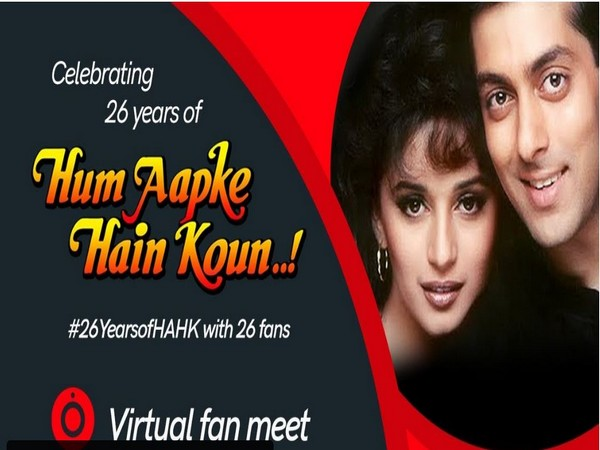 Poster shared by Madhuri Dixit (Image courtesy: Twitter)