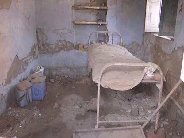 Visuals from government health centre in Sakri area in Bihar's Madhubani. (Photo/ ANI)