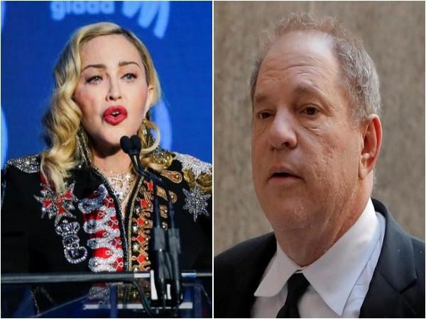Madonna and Harvey Weinstein