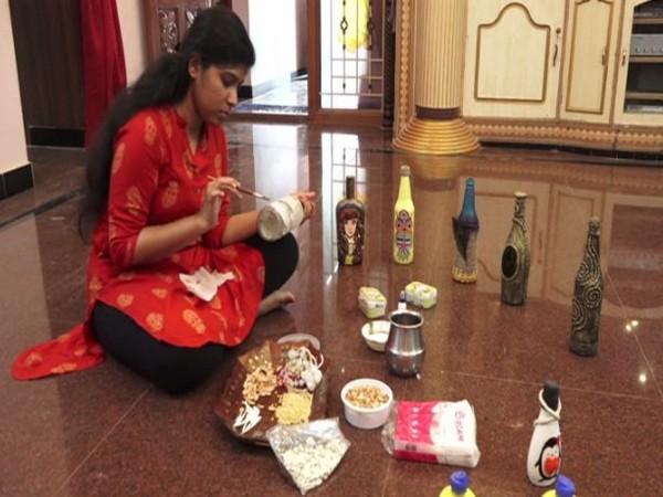 Jennifer has become a young entrepreneur in Madurai, Tamil Nadu, (Photo/ANI)