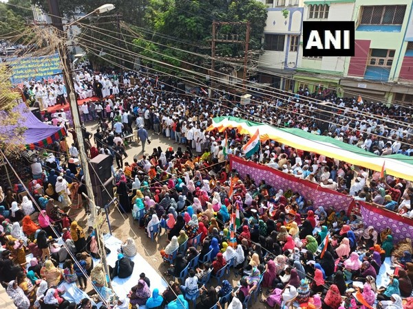 Protest rally against the CAA in Tamil Nadu's Madurai