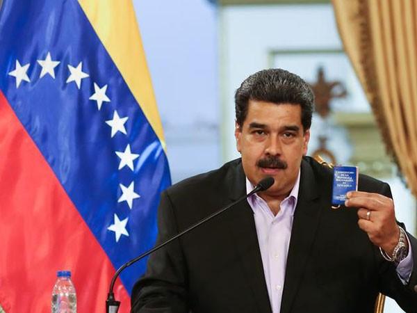 Venezuelan President Nicolas Maduro (file photo)