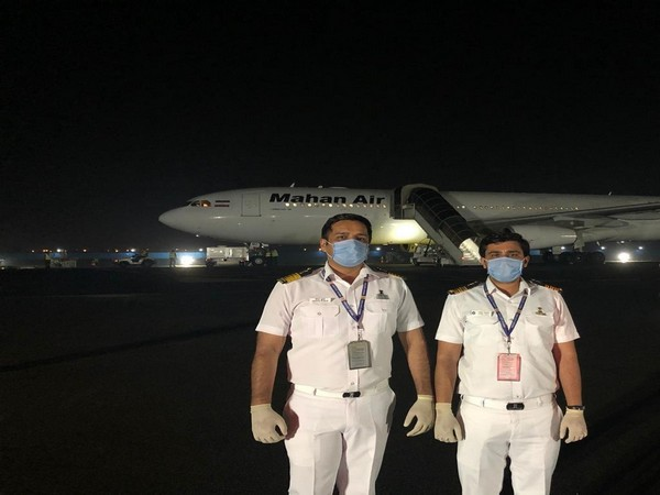 A Mahan Air flight carrying 277 Indians landed in Delhi on Wednesday