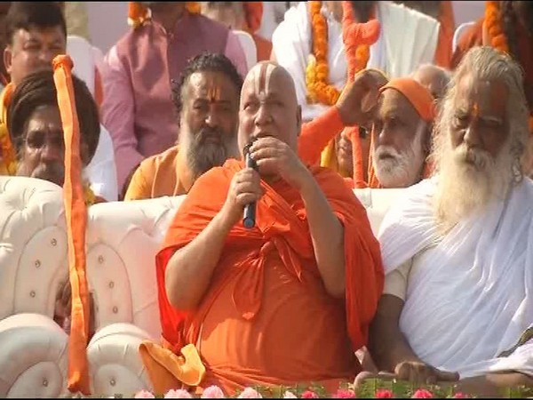 VHP leader Rambhadracharya (File photo)