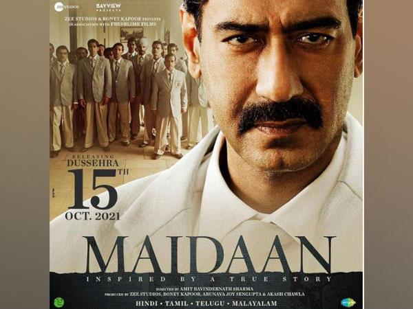 Maidaan movie poster (Image Source; Instagram)