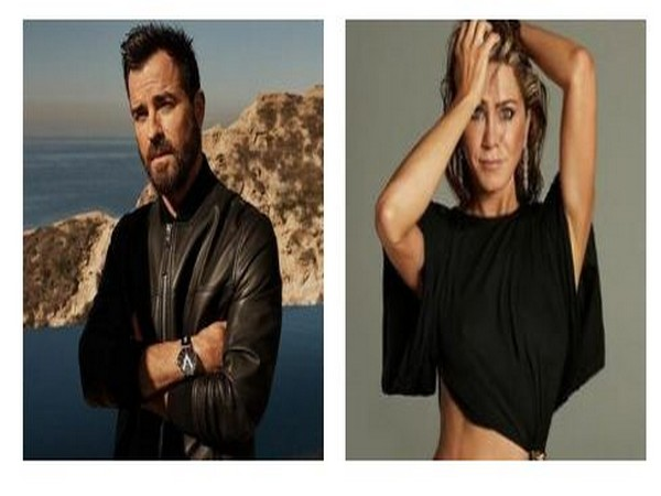 Justin Theroux, Jennifer Aniston (Image Source: Instagram)