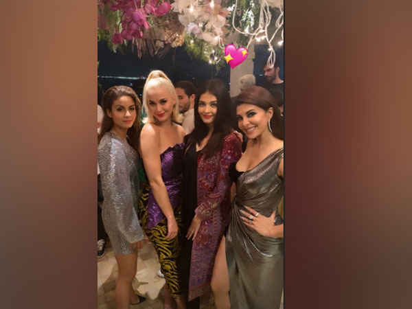 Katy Perry with Aishwary Rai Bachchan and Jacqueline Fernandez (Image courtesy: Instagram)