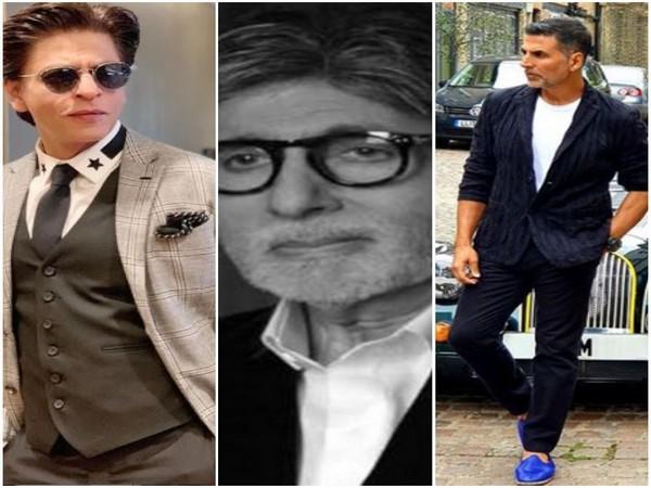 Shah Rukh Khan, Amitabh Bachchan and Akshyay Kumar, Picture courtesy: Instagram