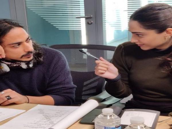 Sonam Kapoor with the director of 'Blind' Shome Makhija, Image source: Instagram