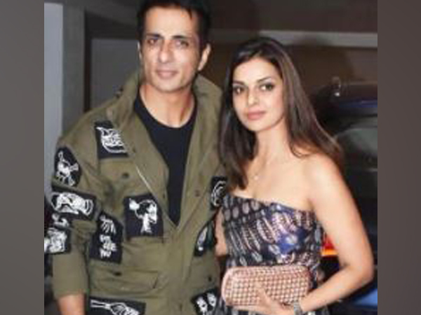 Sonu Sood with wife Sonali Sood (Image Source: Instagram)
