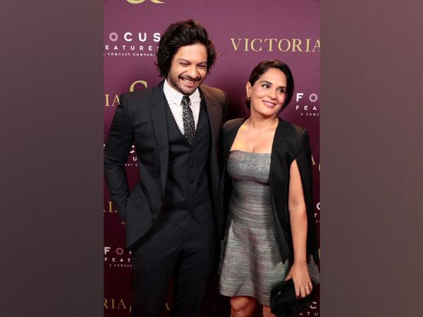 Ali Fazal and Richa Chadha (Image source: Instagram)