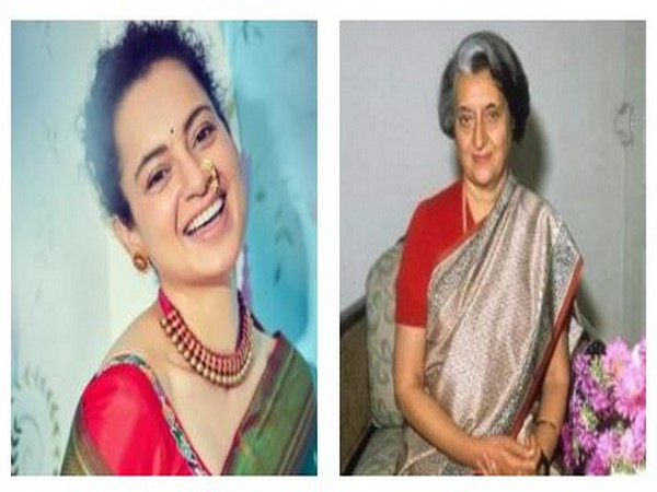 Kangana Ranaut and former Prime Minister of India- Indira Gandhi (Image Source: Instagram)