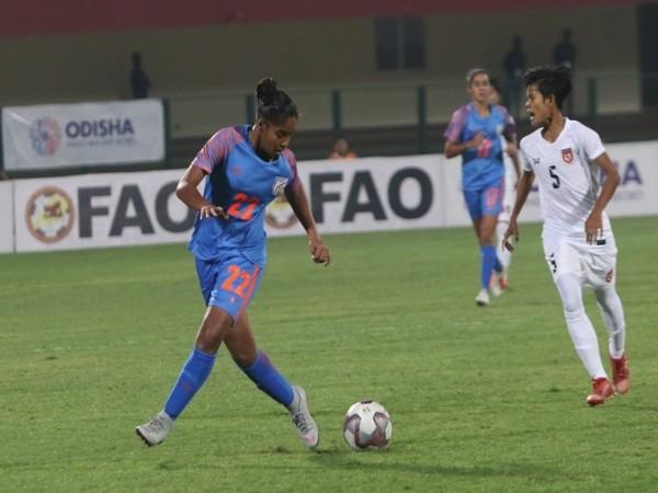 Indian footballer Manisha (Photo/AIFF)