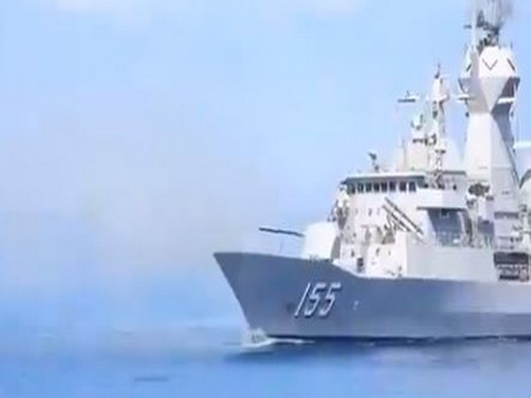 Navies of India, US, Japan, Australia to begin second phase of Malabar Exercise (ANI/Photo)