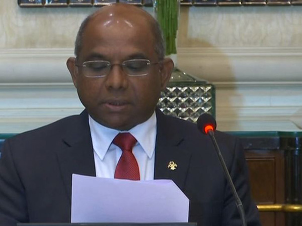 Foreign Minister of Maldives Abdulla Shahid. (File Photo)