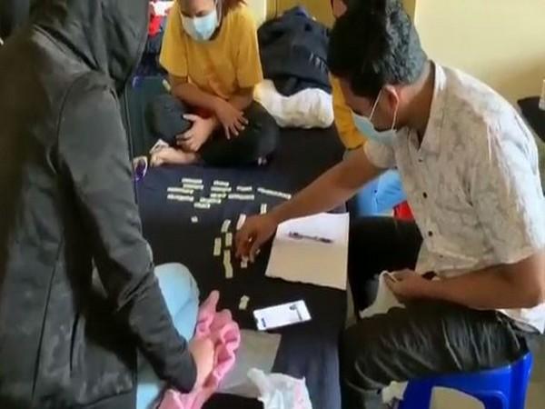Visuals from the quarantine facility in Delhi's Chhawla