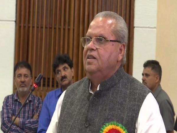 Jammu and Kashmir Governor Satya Pal Malik. File photo/ANI