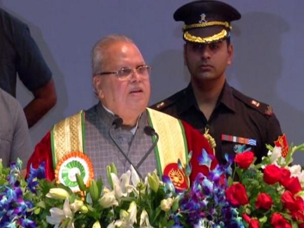 J&K Governor Satya Pal Malik in Katra on Tuesday