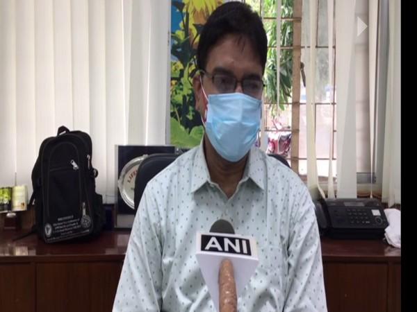 Dr Sanjay Mallick, Medical Superintendent and Vice Principle (MSVP), NBMCH. (Photo/ ANI)