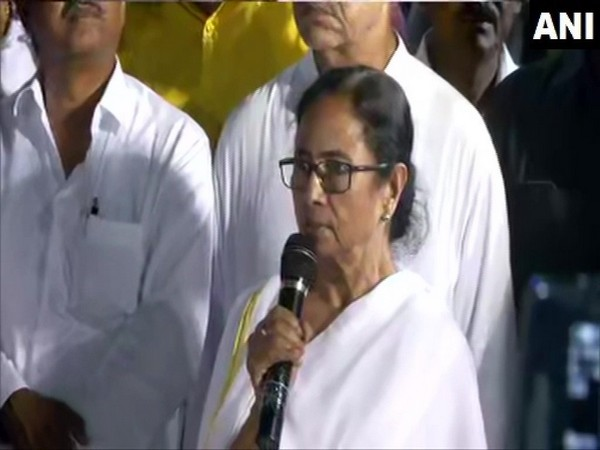 West Bengal CM Mamata Banerjee. File photo/ANI
