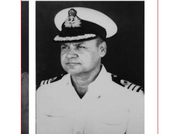Kirti Chakra awardee Commander Noel Kelman. Photo/Indian Navy