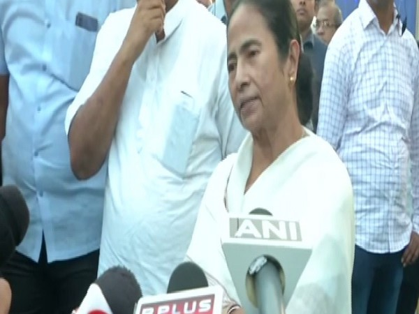 West bengal chief Minister Mamata Banerjee speaking to media in Kolkata on Saturday.