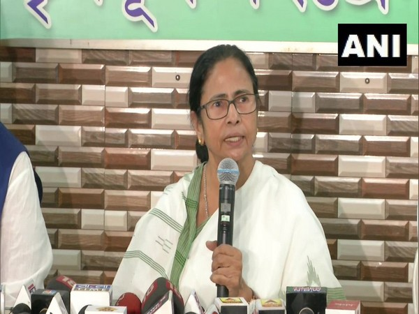 West Bengal Chief Minister Mamata Banerjee addressing a press conference in Kolkata on Thursday. (Photo/ANI)