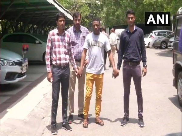 The accused, Gilbert Okoye Pedro, was arrested by Delhi Police's cybercrime unit 'CyPAD' on Thursday. (Photo/ANI)