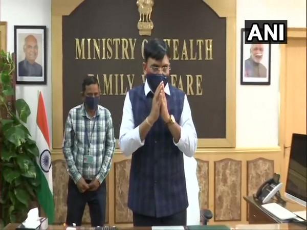 Mansukh Mandaviya, new Union Health Minister. (Photo/ ANI)