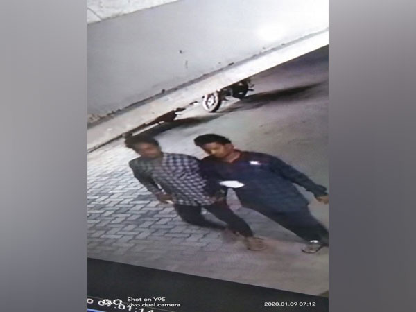 The duo who are suspected to have committed the murder (Photo/ANI)