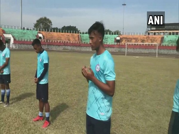 Local football team in Imphal pays homage to Maradona