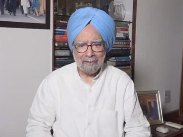 Former PM Manmohan Singh in New Delhi on Sunday