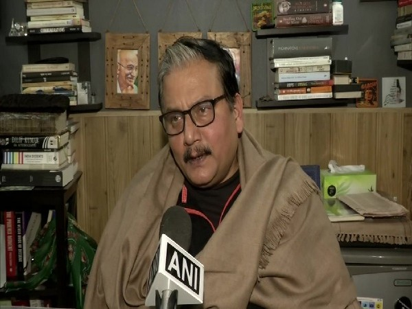 RJD leader Manoj Jha speaking to ANI in New Delhi on Thursday.