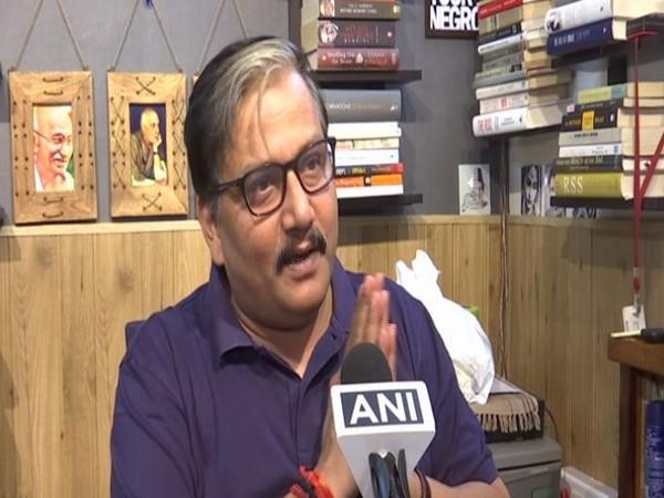 RJD spokesperson Manoj Jha speaking to ANI in New Delhi on Tuesday. Photo/ANI