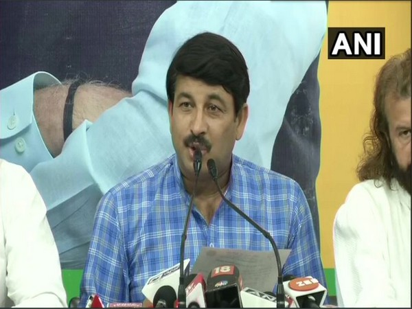 Delhi BJP chief Manoj Tiwari will meet LG Anil Baijal on Monday. Photo/ANI
