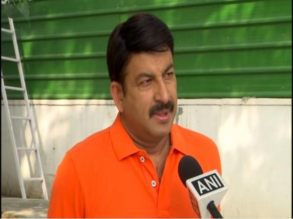 Manoj Tiwari speaks to ANI in New Delhi on Friday. [Photo/ANI]