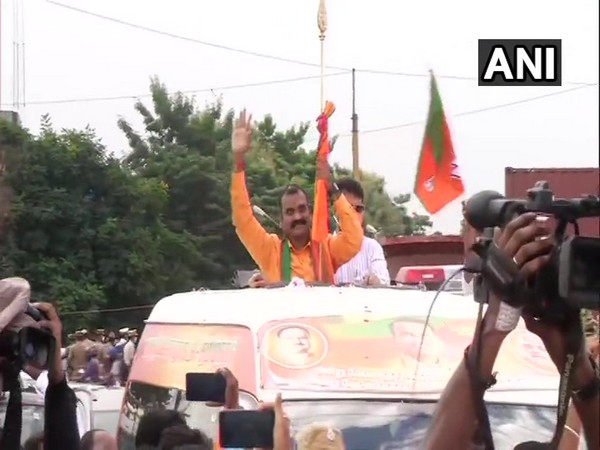 Tamil Nadu BJP President L Murugan who was detained on Friday as they were trying to take out Vetri Val Yatra.