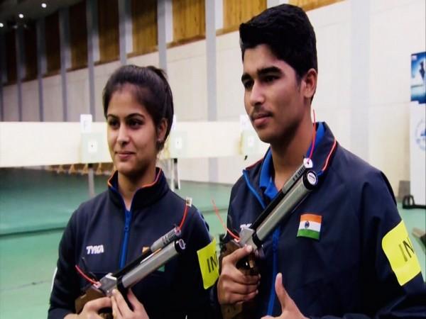 Manu Bhaker and Saurabh Chaudhary (file image)