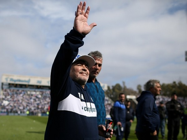 Legendary footballer Diego Maradona