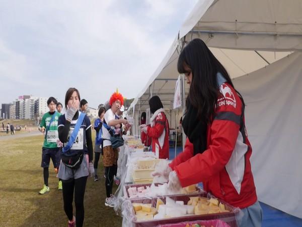 'Sweet Marathon' festival in Osaka