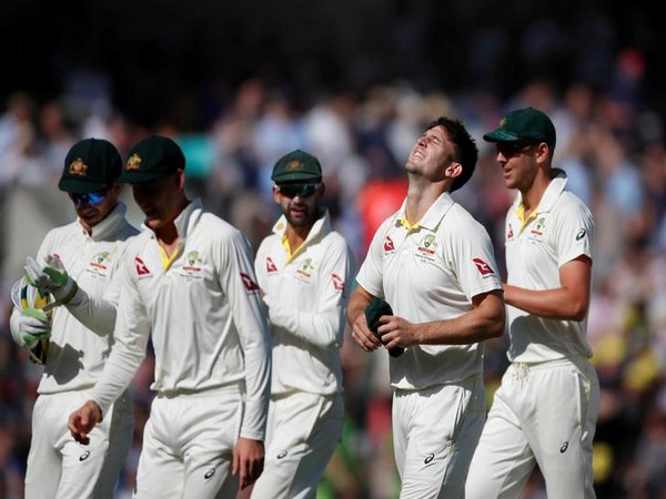 Mitchell Marsh in his first Ashes Test of the series bagged five wickets for Australia.