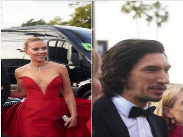Scarlett Johansson and Adam Driver (Image courtesy: Twitter)