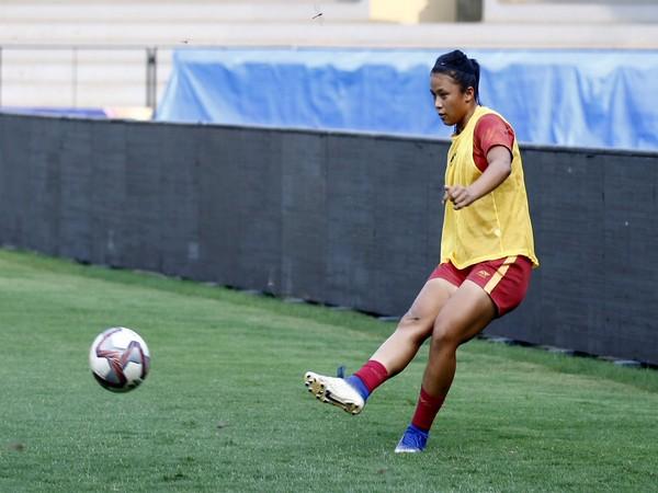 Martina Thokchom   Image: Indian Football Team's twitter