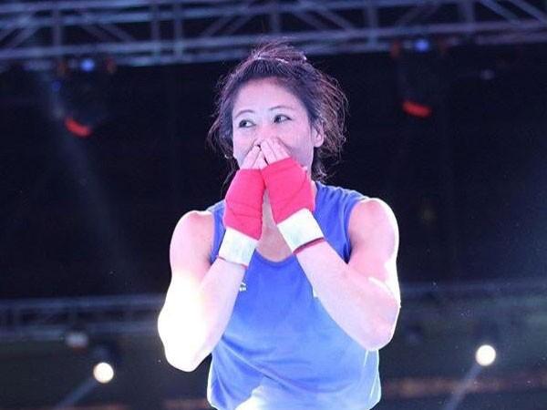 Six-time record World Champion boxer MC Mary Kom
