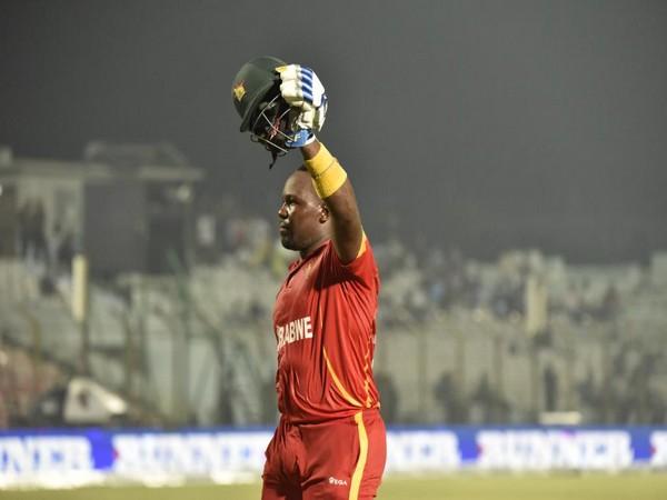 Hamilton Masakadza (Photo/ICC Twitter)